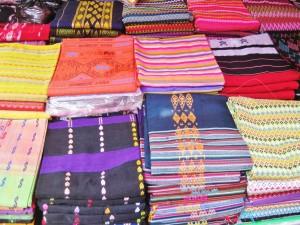 5.Longyi in a shop