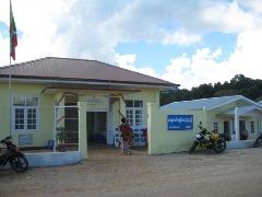 新設されたナンタンコン地域補助補助保健センター