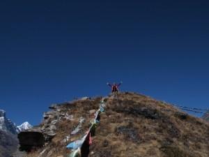 クンデ・ピークに登頂しました。