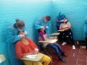 歯科治療コーナーの様子