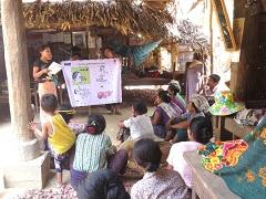 委員による住民への保健教育