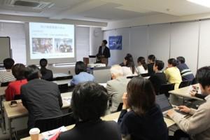 「母子保健事業の歩み」について田中海外事業部長