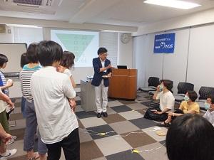昨年度は、国際理解教育の教材ツールを学ぶワークショップに助成いただきました