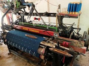 60年以上大事に使われている自動織機