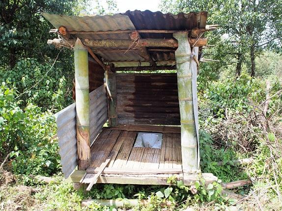 パンウォーリャンの既存トイレ
