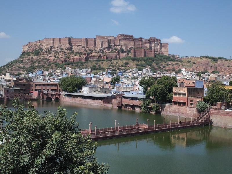 ジョードプルにある、メヘラーンガル城塞