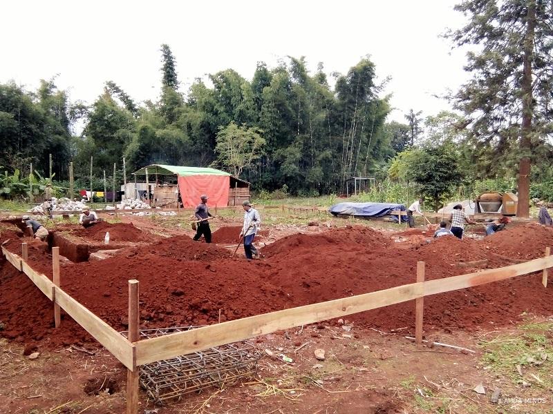 建設の様子